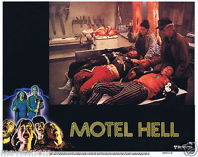 MOTEL HELL 1980 Horror VINTAGE US Lobby Card 3 Kevin Connor