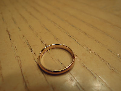 Baby's First Ring 14K Gold 1/20th RGP Baby Ring