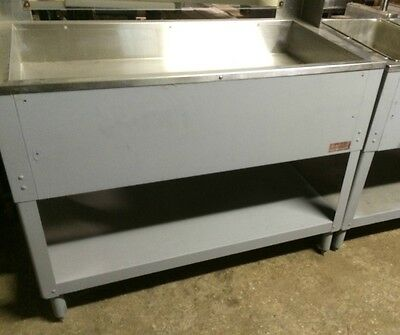 "Salad Bar/ Buffet Table Nice Used Unit  60"" USES ICE Cafeteria"