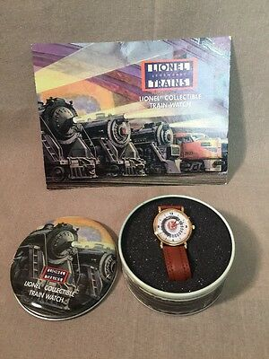 Lionel Collectible train watch with Collectible Tin And COA