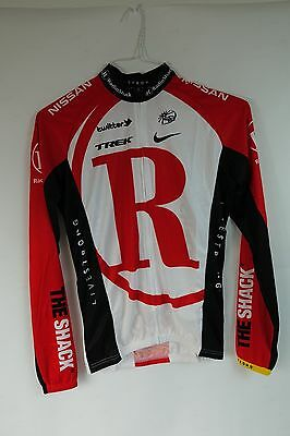 New Radio Shack Pro Cycling Team Long Sleeve Cycling Jersey Small Lightweight