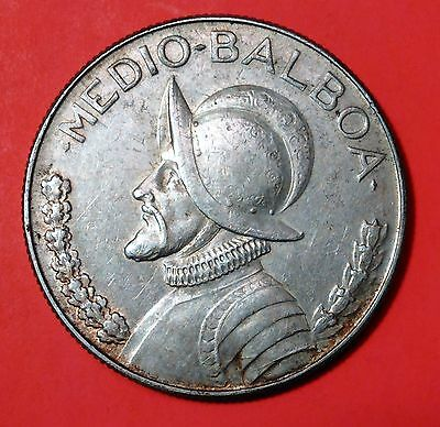 1968 Medio-Balboa Silver Coin High Grade