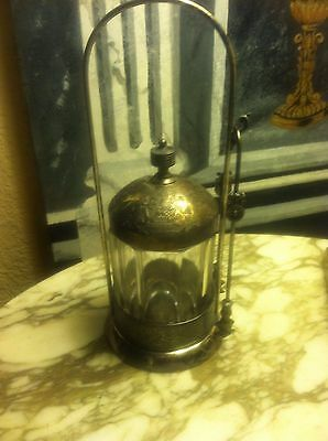 Victorian Silver Plated Sugar Cube Holder