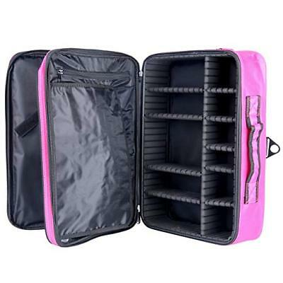 Pro Makeup Cosmetic Case Beauty Artist Storage Tool Holder Organizer JL-209Red