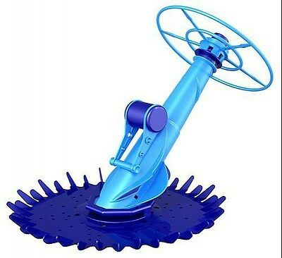 Deluxe Automatic Swimming Pool Cleaner Above & In-Ground Large Leaf Technology