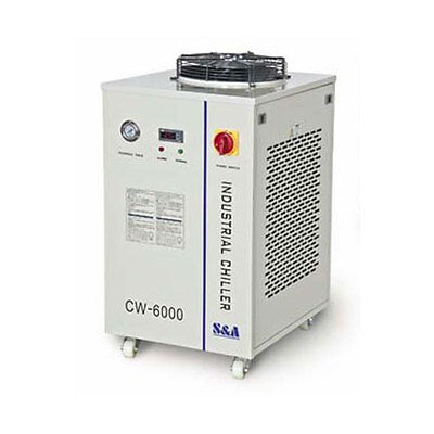 HOT! CW-6000I Industrial Water Chiller for 100W Laser Tube Cooling 3KW Capacity