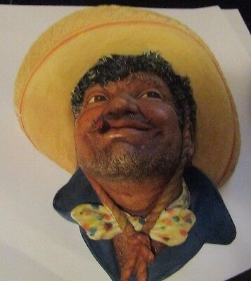 Bossons Pancho Chalkware Head 1960 England