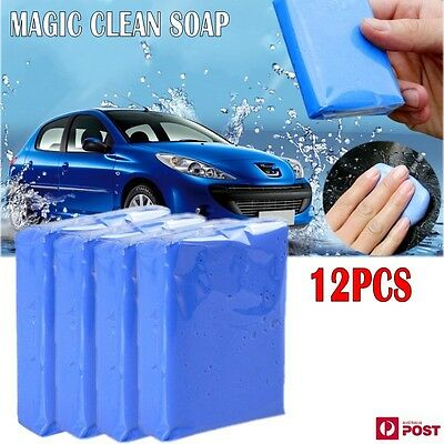 12X Magic Car Clean Clay Truck Vehicle Bar Cleaning Soap Detailing Wash AU NEW