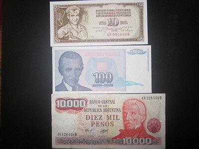 World currency / foreign paper money lot 310