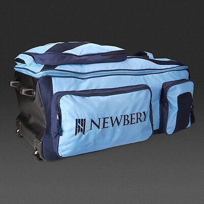 Brand New Newbery Tour Wheelie Sports Cricket Bag Carries Bat Pads Gloves