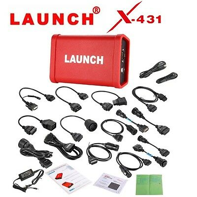 LAUNCH X431 HD Heavy Duty Diagnostic Adapter for LAUNCH X-431 V+ X431 Pro3 PADII