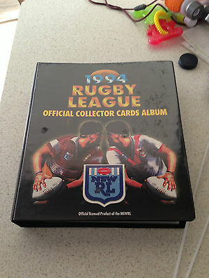 nrl 1994 rugby league ultimate completed collection set GOLD CARDS HOMETOWN DUOS