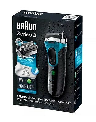 The Brand New Braun Series 3 380s-4 Shave Wet Or Dry Electric Shavers. RRP £100