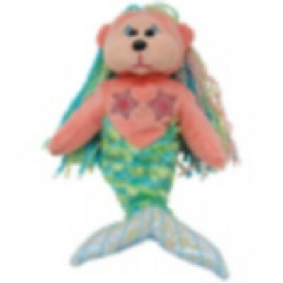 "Skansen  Beanie Kid ""marina"" The Mermaid Bear Mint With Mint Tag"