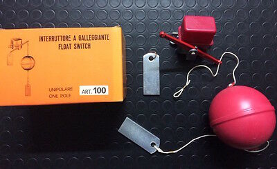 Interruttore A Galleggiante Elettrico Float Switch - Made In Italy