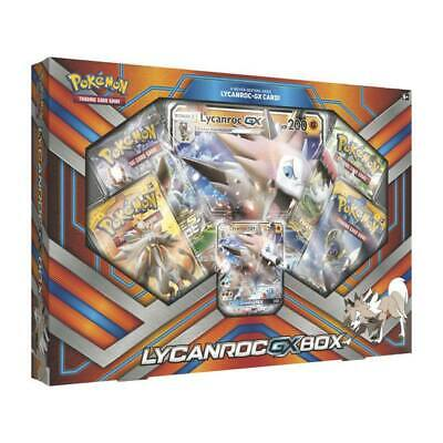 Pokémon Lycanroc-GX Box - english