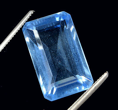 Awesome 19.73 ct Beautiful Transparent Oval Mixed Lab Created Blue Topaz GN-2978