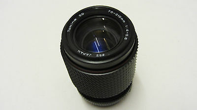 OLYMPUS FIT TOKINA SD 70-210mm 1:4-5.6 LENS FOR OLYMPUS