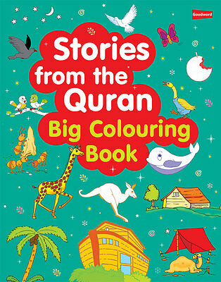 Stories from the Quran: Big Colouring Book - (PB)