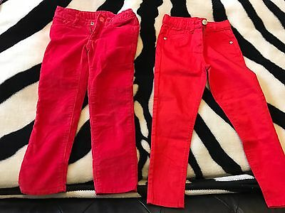 2x Girls Gap Pants - 4-5 Years