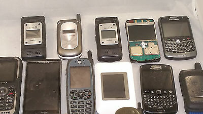 20 Scrap Cell phones smartphones for Parts gold recovery recycling LOT