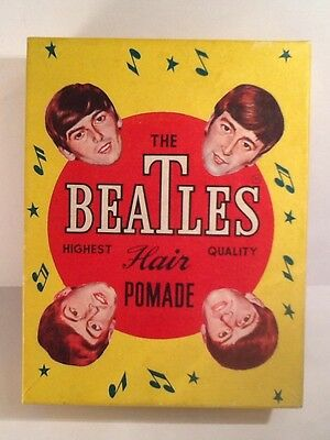 The Beatles 1960's Hair Pomade Box of 95 Packs