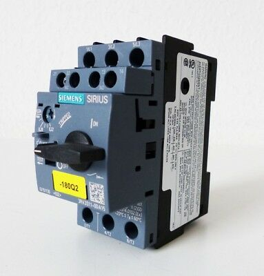 Siemens SIRIUS 3RV2011-0DA15 Circuit Breaker E-Stand: 02 -unused