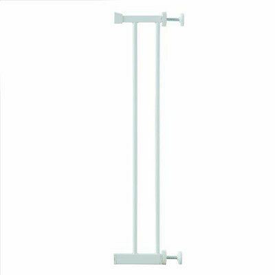 Lindam Universal Gate Extension 14cm - White - Warehouse Clearance