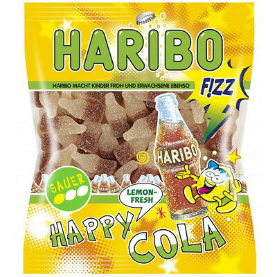 HARIBO - Happy Cola Lemon Fresh - 200 g bag - German Product