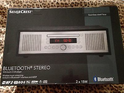 Bluetooth Stereo 2✖️15W Radio And CD Player