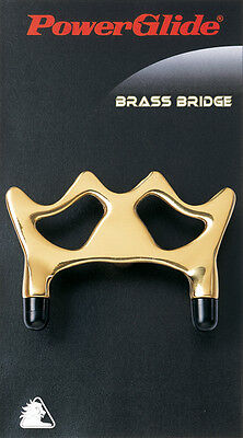 Brand New Powerglide Snooker Pool Cue Brass Bridge Rest Gold