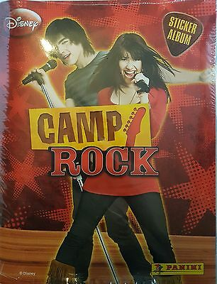 Camp Rock Sticker Collection Album & All Stickers To Complete The Album New