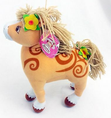 "Kellytoy 2004 Strawberry Shortcake Orange Twist Pony Horse 12"" Plush Toy w/ Tag"
