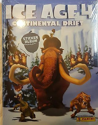 Ice Age 4 Sticker Collection Album And All Stickers To Complete The Album Loose