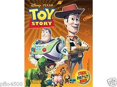 Toy Story 1 & 2 Sticker Collection Album  & The Stickers To Complete Album New