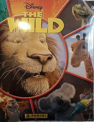 Disney's The Wild Sticker Album & All Stickers To Complete The Album Brand New