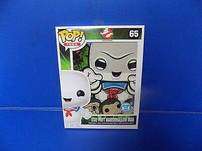 Ghostbusters Pop T-Shirt Stay Puft Marshmallow Man Short Sleeve Xlmovie New