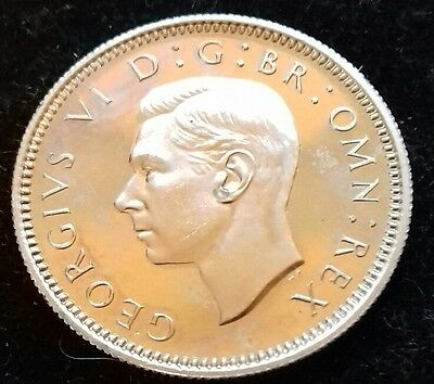 1950 Proof Sixpence.