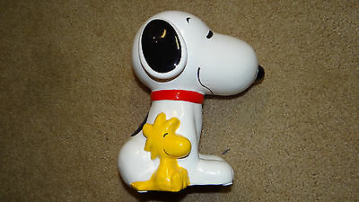 Peanuts Snoopy Porcelain Bank Charlie Brown Brand New