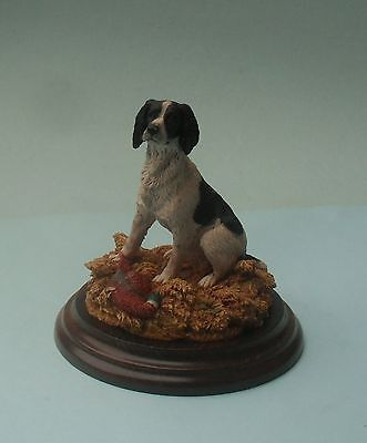 Detailed Country Artists 1989 First Of The Season Dog Figurine