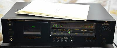 Excellent Nakamichi CR-3 3 Head Cassette Tape Deck Recorder, Manual
