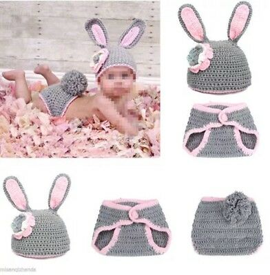 Fashion Newborn Baby Knit Outfits Photography Props, N15