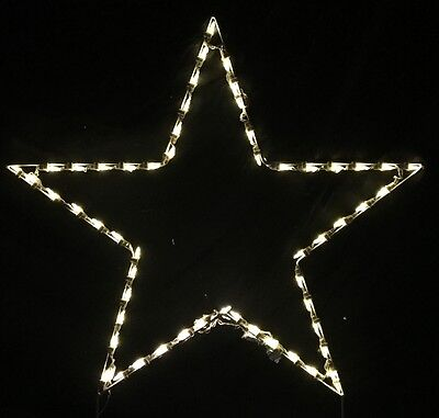 Large christmas holiday star xmas outdoor led lighted decoration large christmas holiday star xmas outdoor led lighted decoration steel wireframe aloadofball Image collections