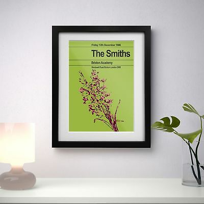 The Smiths 1986 Last Concert Poster Print Olivia Valentine© 2017 NEW Exclusive