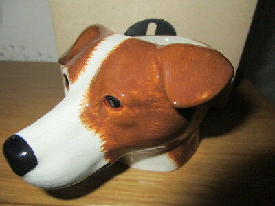 Lovely Jack Russell Egg Cup From Quail Pottery Boxed New