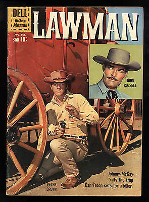 Lawman (1959) #5 1st Print Dell TV John Russell Peter Brown Photo Cover VG-