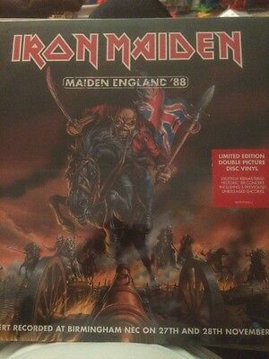 """Iron Maiden - Maiden England '88 2 x 12"""" Limited Edition Picture Disc Vinyl"""