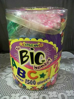 By creative hands big bucket of foam shapes children crafting shapes