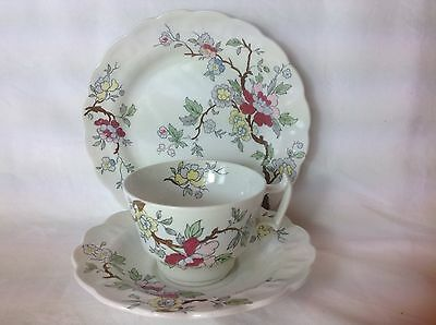 ��c.1912-1929 VINTAGE BOOTHS CHINESE TREE SILICON CHINA  TEA TRIO