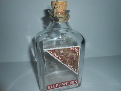 EMPTY ELEPHANT GIN BOTTLE 50cl / 5***** CONDITIONS - SEE PHOTOS